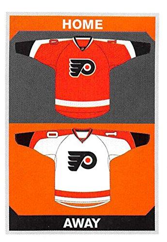 2015-16 Panini Stickers #164 Flyers Home/Away Jerseys Philadelphia Flyers Hockey Sticker