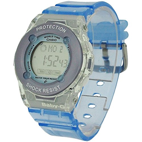 Casio Baby-G Blue Ladies Shock Resist Multi Function Digital Watch (Casio Baby G-shock Resist)