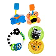Sassy 3 Piece Developmental Gift Set, Newborn