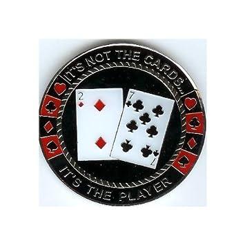 Pokerweights - Protector de cartas de póker, diseño con ...