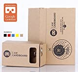 I AM CARDBOARD 45mm Focal Length Virtual Reality Cardboard Kit with NFC Tag Google Cardboard - Box Color