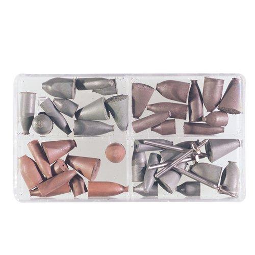 CRATEX Rubberized Abrasive Point & Mandrel Set - Mfr #: 767 Kits
