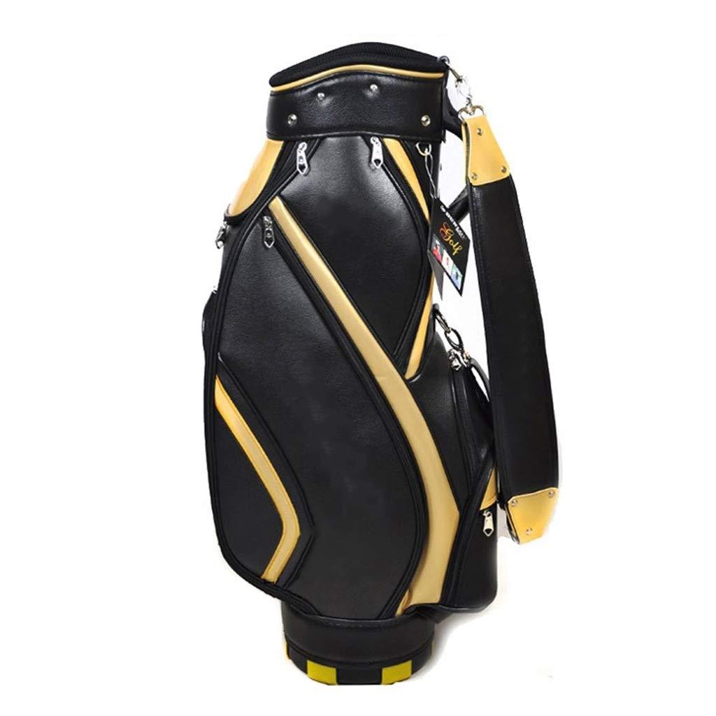 ゴルフバッグクラブバッグPUファブリックナイロン大容量軽量ポータブルベルトメンズ   B07PDXCQXR