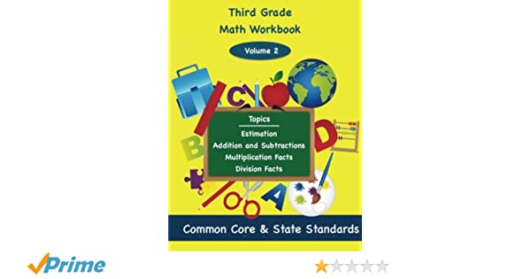 Third Grade Math Workbook Vol 2