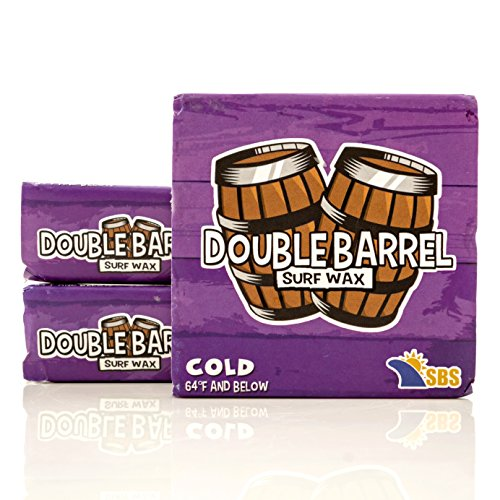 Double Barrel Surf Wax - Cold Water - 3 - Water Cold Surfing