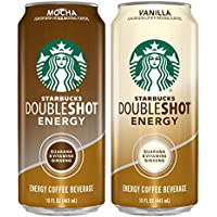12-Pack Starbucks Doubleshot Energy Coffee Can Variety Pack, 15 Fl Oz