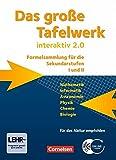 Das große Tafelwerk interaktiv 2.0 - Allgemeine Ausgabe (außer Niedersachsen und Bayern): Das grosse Tafelwerk interaktiv 2.0 Mathematik, Informatik. mit CD-ROM. Westliche Bundeslaender