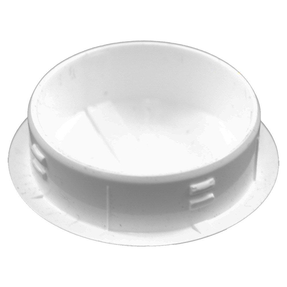 AWCP-HOLEPLUG-1-10PK White PVC Vinyl 1 Inch Hole Plug 10 Pack