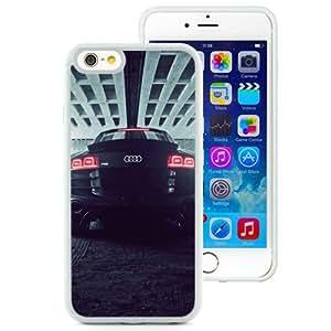 NEW Unique Custom Designed iPhone 6 4.7 Inch TPU Phone Case With Audi R8 Back_White Phone Case