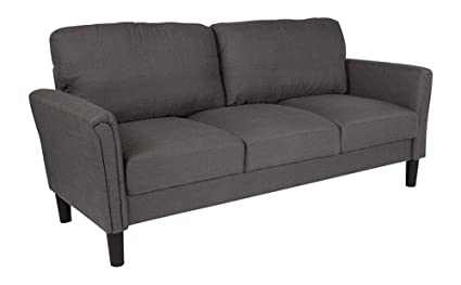 Amazon.com: Offex Contemporary Upholstered Sofa with Loose ...