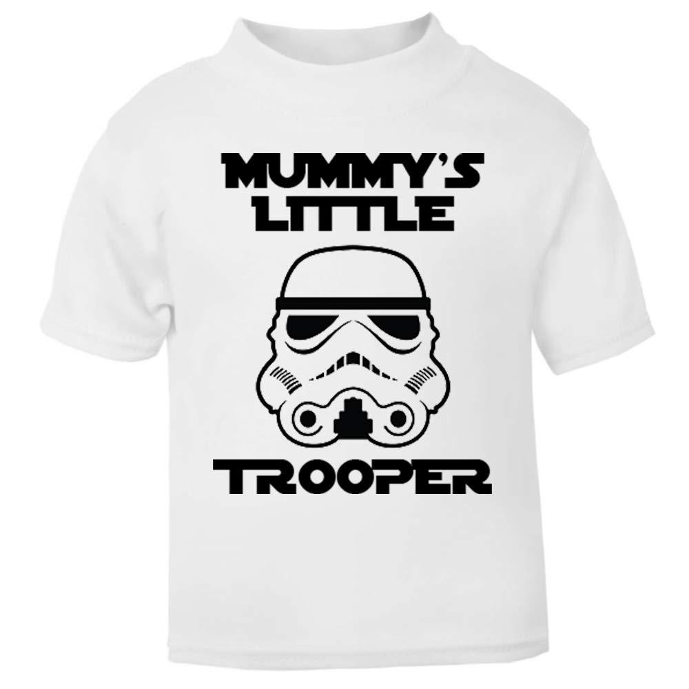 Original Stormtrooper Mummy's Little Stormtrooper Baby and Toddler Short Sleeve T-Shirt