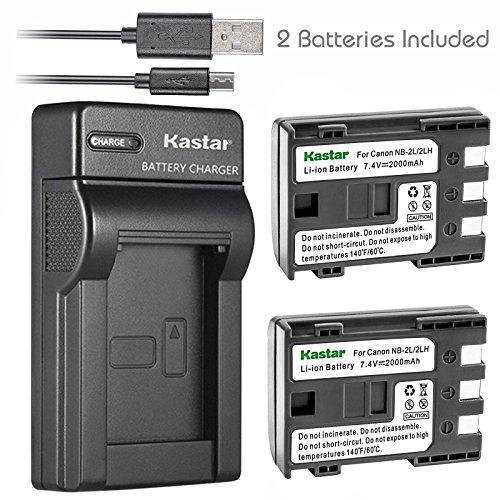 Kastar Battery (X2) & Slim USB Charger