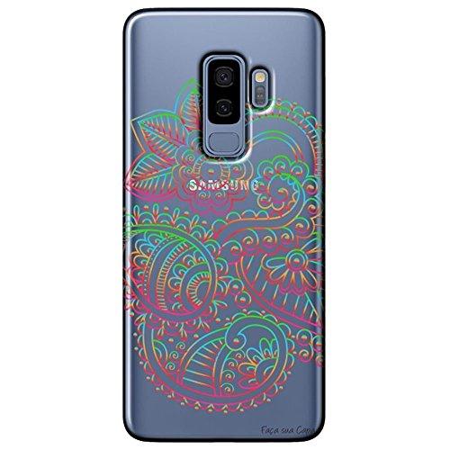Capa Personalizada Samsung Galaxy S9 Plus G965 - Mandala - TP254