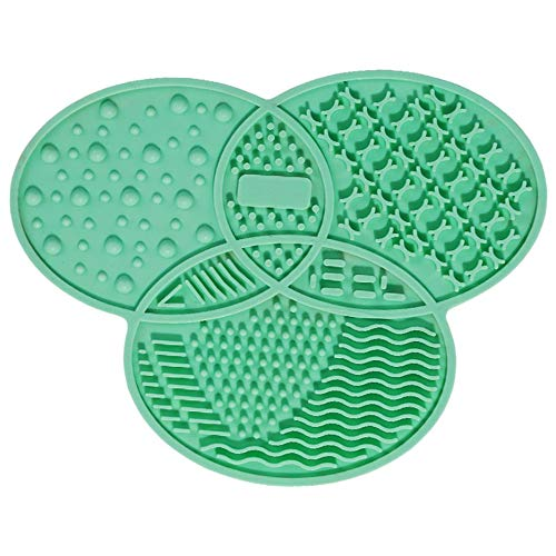 Silicone Brush Cleaner Cosmetic Make Up Washing Brush Gel Cleaning Mat Foundation Makeup Brush Cleaner Pad Scrubbe Board Deasengmine