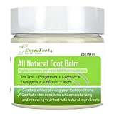 Dr. Entre's Foot Balm: Organic Hydrating Antifungal Relief for Fungal Infections, Dry Cracked