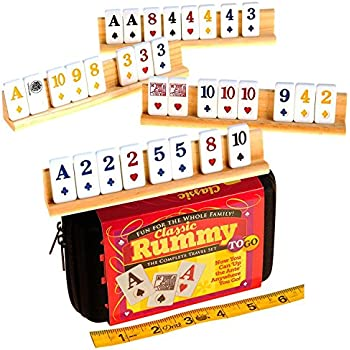 Amazon Com Rummy Classic Tiles With Suits Toys Amp Games