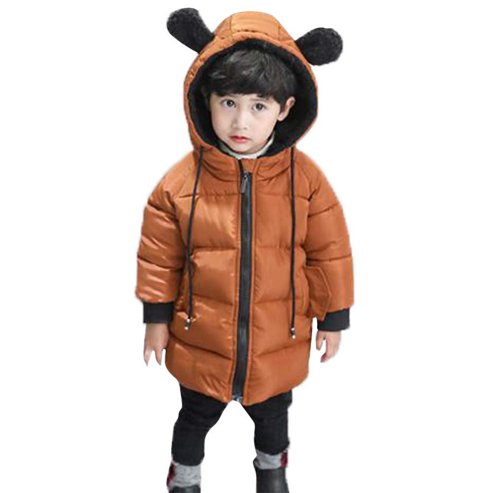 Iuhan Clearance Coat Baby Girl Boy Winter Hooded Cloak Jacket Thick Warm Outerwear Iuhan ®