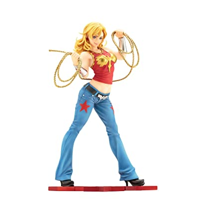 Kotobukiya DC Comics Wonder Girl Bishoujo Statue: Toys & Games
