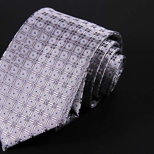 LBBJJ Corbata de Moda clásica Hombres Tie_Business Hombres Corbata ...