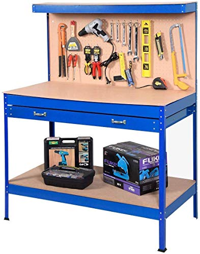Goplus Steel Workbench Tool