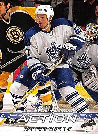 2003-04 In The Game Action Hockey  573 Robert Svehla Toronto Maple Leafs 0d7ffacf3