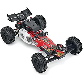 ARRMA 1:8 Scale RTR Remote Radio Control Car: RAIDER XL MEGA 2WD Electric RC Desert Buggy with 2.4GHz Radio, Servo, ESC, Brushed Motor, 7.2V 2000mAh NiMH Battery, and Charger