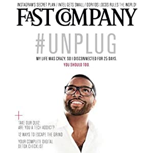 Audible Fast Company, July/August 2013 Periodical