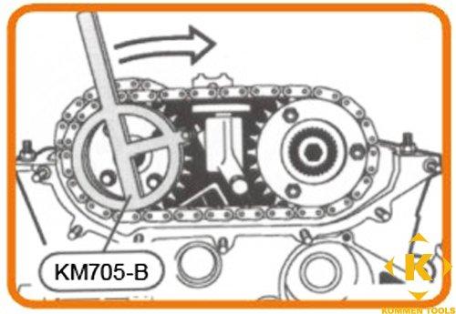 BMW Double Vanos Camshaft Alignment Tool Set: Amazon co uk: Car