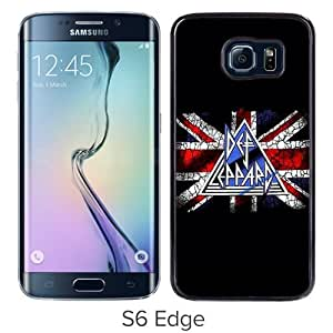 Hot Sale And Popular Samsung Galaxy S6 Edge Case Designed With Def Leppard Samsung S6 Edge Phone Case