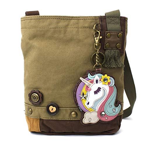 Chala Patch Crossbody - Unicorn- - Patchwork Womens Bag