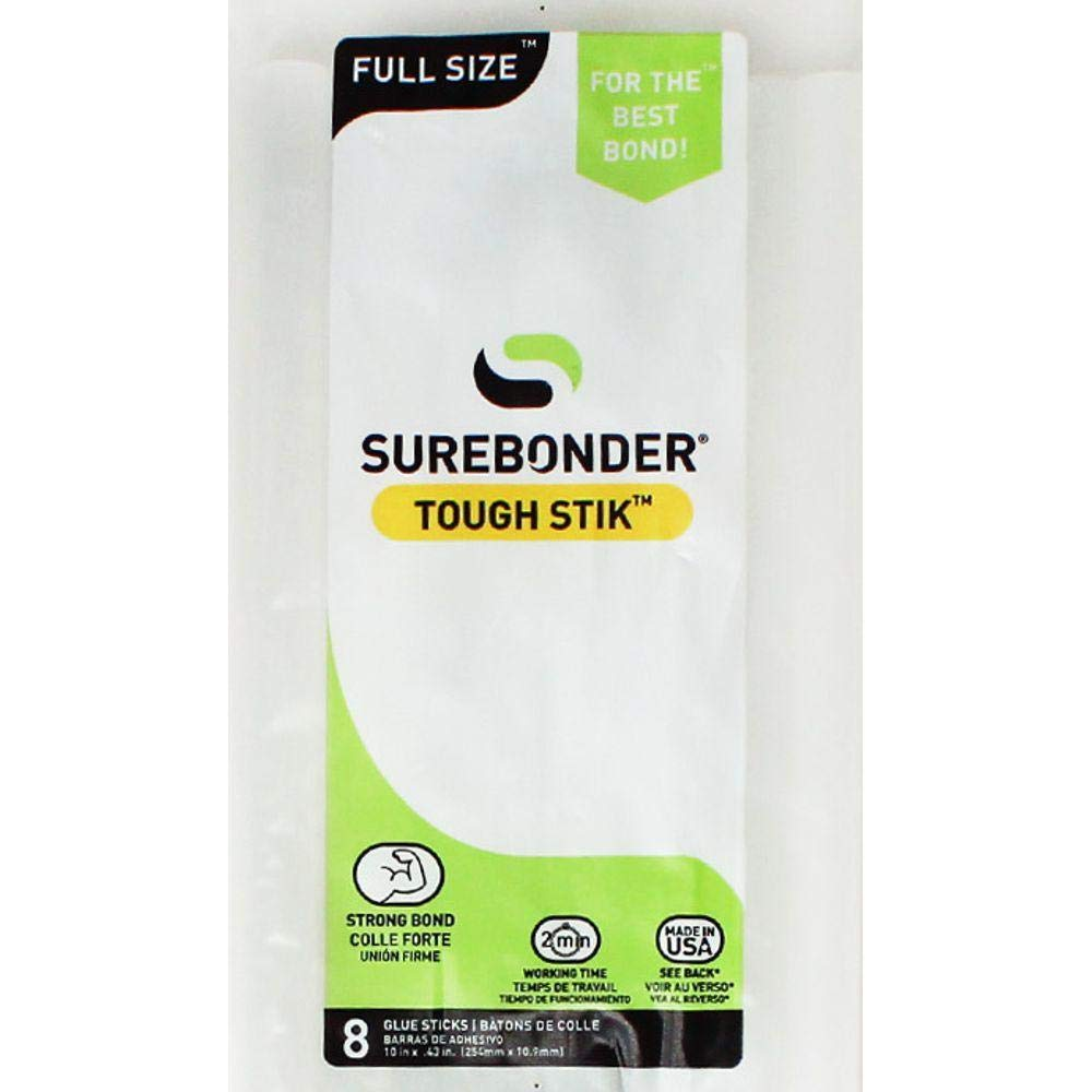 Surebonder H-810R High Performance Acrylic Adhesive Glue Sticks, 10-Inch FPC CORPORATION