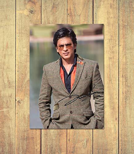 Star Prints Shah Rukh Khan 1 - High Gloss Personalised Printed Poster - A4 (210 x 297 mm)