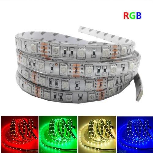 5M LED strip 5050 IP65 Waterproof 60LED/M DC12V Flexible LED Light Strip RGB Warm Cool White led ruban luces led tiras (RGB)