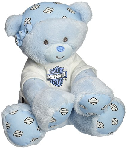 Harley Davidson All Bean Bag, Blue Bear