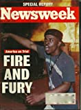 img - for NEWSWEEK, MAY 11, 1992: SPECIAL REPORT: AMERICA ON TRIAL, FIRE AND FURY book / textbook / text book