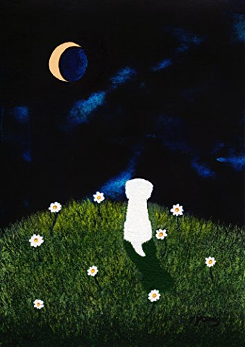 Maltese Bichon Frise Dog Art Print by Todd Young DAISY HILL