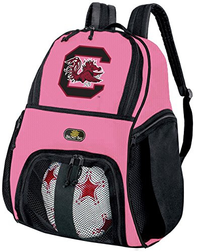 Broad Bay Girls University of South Carolina Soccer Ball Backpack or Womens Volleyball Bag Ball Carrier