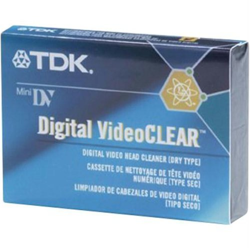 TDK DVCL-10C Video Head Cleaner Tape