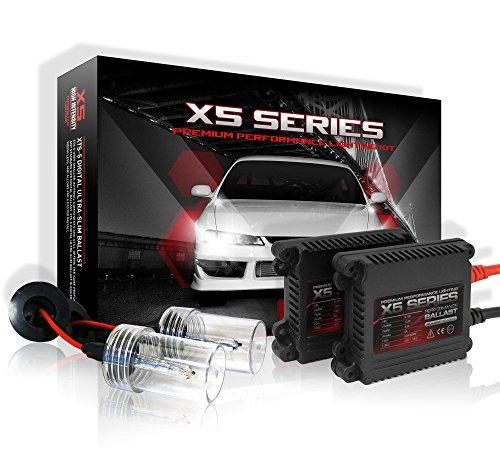 X5 Series Slim HID Xenon Conversion Kit (9006 HB4 Bulbs 5000K Bright White) (Refraction 9 Bulb)