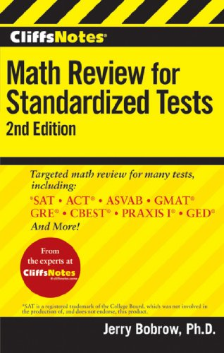 CliffsNotes Math Review for Standardized Tests, 2nd Edition (CliffsTestPrep) (Best Gmat Prep Classes)