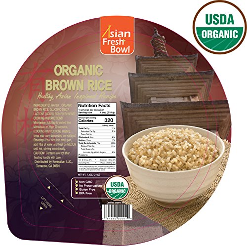 quick cook organic brown rice - 7