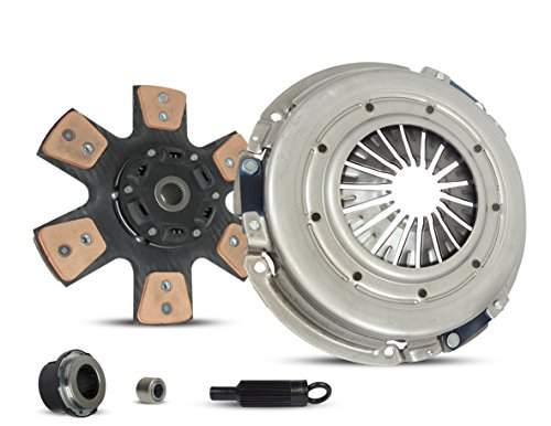 Clutch Kit Pontiac GTO Firebird Chevrolet Camaro Base Z28 SS Formula Trans Am Coupe Convertible 1998-2004 5.7L V8 GAS OHV Naturally Aspirated (6-Puck Clutch Disc Stage (2002 Pontiac Firebird Convertible)