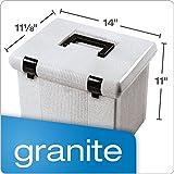 """Pendaflex Portable File Box, 11""""H x 14"""" W x 11"""