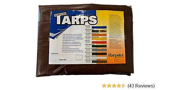 TGS-1015 Kotap America Ltd. Kotap 10-ft x 15-ft Heavy-Duty 12 by 12 Cross Weave 8-mil Reversible Green//Silver Poly Tarp Item
