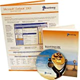 Microsoft Outlook 2003 Training Bundle - Quick Reference Card & Computer Based Training (CBT)-Learn Outlook Shortcuts, Cheats, Tips & Tricks. Improve Company Productivity. 6 Page Tri-Fold Reference Card & Computer Based Training DVD / CD. MS Outlook 2003