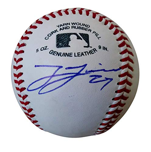 Chicago White Sox Lucas Giolito Autographed Hand Signed Baseball with Exact Proof Photo of Signing and COA, Washington Nationals- Chicago Whitesox Collectibles