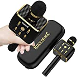 RockDaMic Karaoke Wireless Bluetooth Microphone [NO KARAOKE MACHINE NEEDED] Mic for Kids