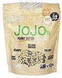 JOJO's Chocolate Peanut Butter Delight 8.4oz Bags 7 Bars Per Bag, NON-GMO, Gluten Free, Paleo and Keto Friendly, Plant Based Protein, German Dark Chocolate