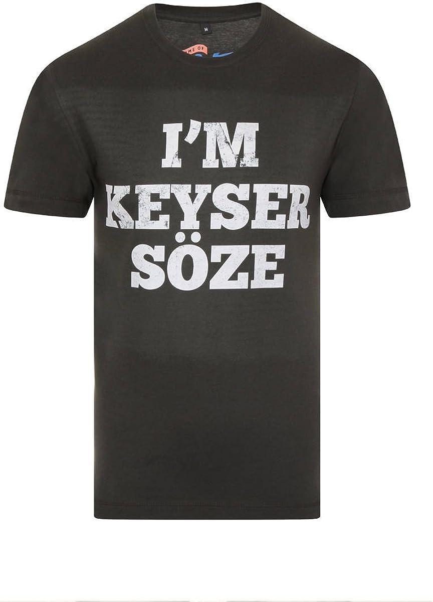 The Usual sospechosos I m Keyser söze Mens Color Gris ...