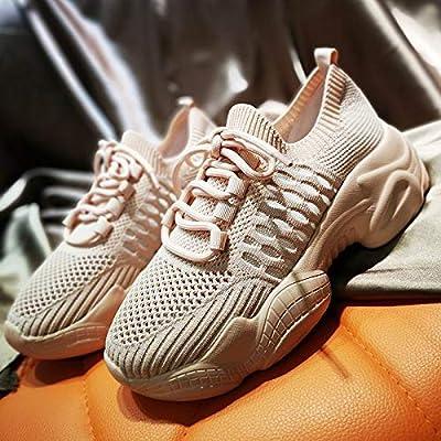LQHYA Womens Casual Shoes Flat Platform